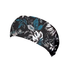 Floral Pattern Yoga Headband