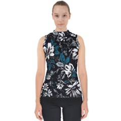 Floral Pattern Shell Top