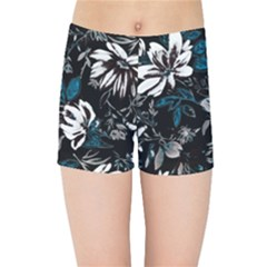 Floral Pattern Kids Sports Shorts