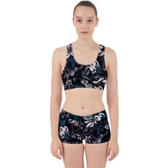 Floral Pattern Work It Out Gym Set