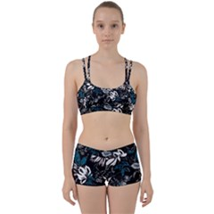 Floral Pattern Women s Sports Set