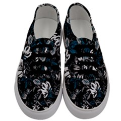 Floral Pattern Men s Classic Low Top Sneakers