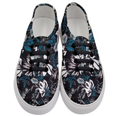 Floral Pattern Women s Classic Low Top Sneakers