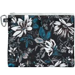 Floral Pattern Canvas Cosmetic Bag (xxxl)