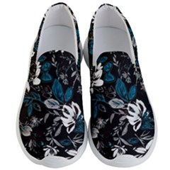 Floral Pattern Men s Lightweight Slip Ons