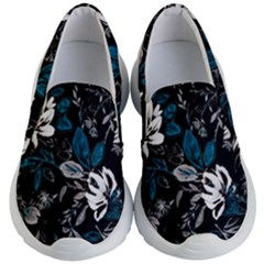 Floral Pattern Kid s Lightweight Slip Ons