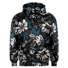 Floral Pattern Men s Overhead Hoodie