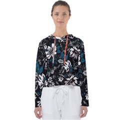 Floral Pattern Women s Slouchy Sweat