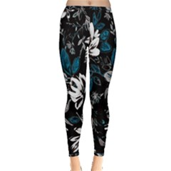 Floral Pattern Inside Out Leggings
