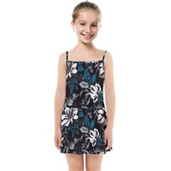 Floral Pattern Kids Summer Sun Dress