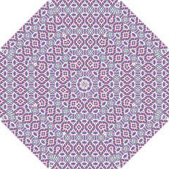 Colorful Folk Pattern Hook Handle Umbrellas (small)