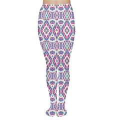 Colorful Folk Pattern Women s Tights