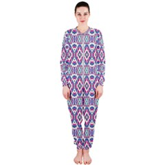Colorful Folk Pattern Onepiece Jumpsuit (ladies)
