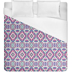 Colorful Folk Pattern Duvet Cover (king Size)