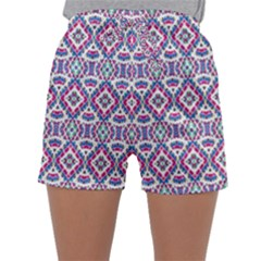 Colorful Folk Pattern Sleepwear Shorts