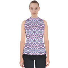Colorful Folk Pattern Shell Top