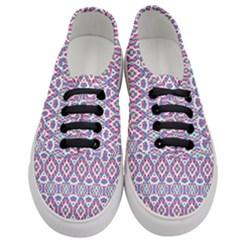 Colorful Folk Pattern Women s Classic Low Top Sneakers