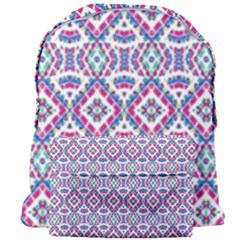 Colorful Folk Pattern Giant Full Print Backpack