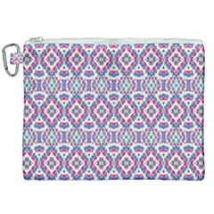 Colorful Folk Pattern Canvas Cosmetic Bag (xxl)