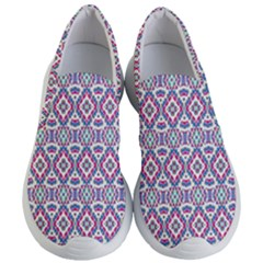 Colorful Folk Pattern Women s Lightweight Slip Ons