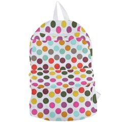 Dotted Pattern Background Foldable Lightweight Backpack by Modern2018