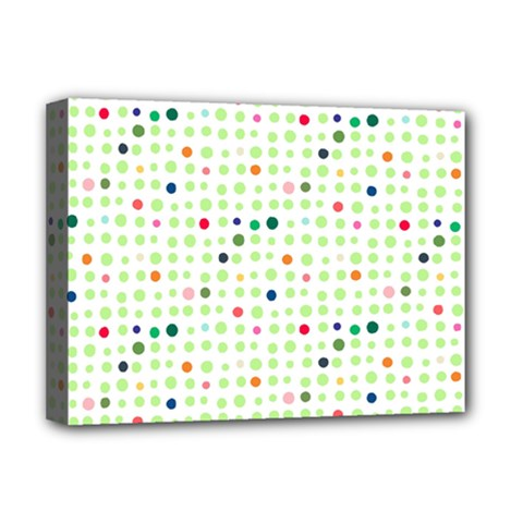 Dotted Pattern Background Full Colour Deluxe Canvas 16  X 12