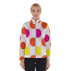 Polka Dots Background Colorful Winterwear