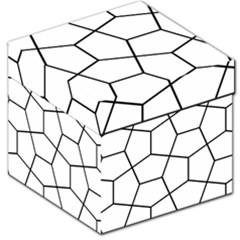 Cairo Tessellation Simple Storage Stool 12