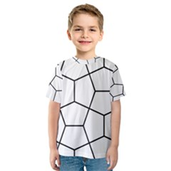 Cairo Tessellation Simple Kids  Sport Mesh Tee