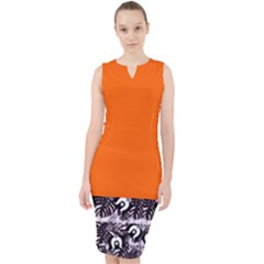 Ljp Styles Midi Bodycon Dress
