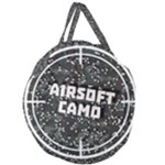 AIRSOFT CAMO Giant Round Zipper Tote