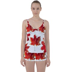 Innovative Tie Front Two Piece Tankini