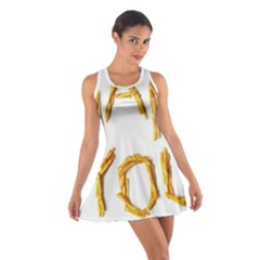 Thank You French Fries Cotton Racerback Dress