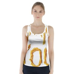 Thank You French Fries Racer Back Sports Top