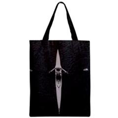 Rower Zipper Classic Tote Bag