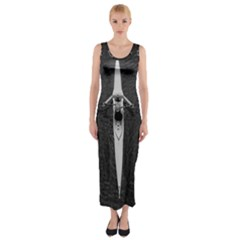 Rower Fitted Maxi Dress