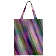 Gradient With Resynthetize Texture Zipper Classic Tote Bag