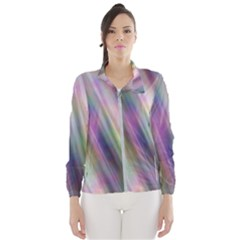Gradient With Resynthetize Texture Wind Breaker (women)