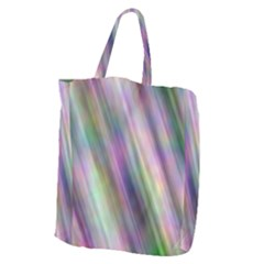 Gradient With Resynthetize Texture Giant Grocery Zipper Tote