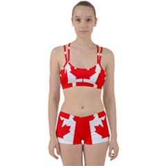 Flag Of Canada Women s Sports Set