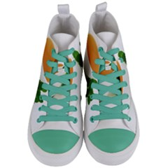 Tea Women s Mid Top Canvas Sneakers