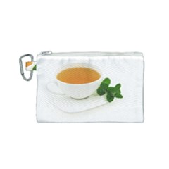 Tea Canvas Cosmetic Bag (small) by goodart