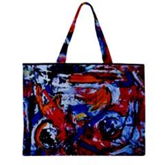 Mixed Feelings Zipper Mini Tote Bag by bestdesignintheworld