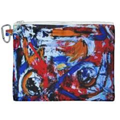 Mixed Feelings Canvas Cosmetic Bag (xxl) by bestdesignintheworld