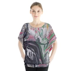 Lady With Lillies Blouse