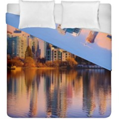 Vancouver Canada Sea Ocean Duvet Cover Double Side (king Size)