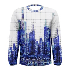 Skyscrapers City Skyscraper Zirkel Men s Long Sleeve Tee