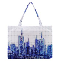 Skyscrapers City Skyscraper Zirkel Zipper Medium Tote Bag