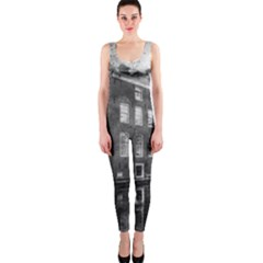 Reflection Canal Water Street One Piece Catsuit by Simbadda
