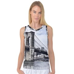 City Skyline Skyline City Cityscape Women s Basketball Tank Top
